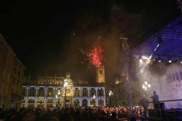 Capodanno in piazza della Loggia
