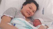 Enoch con la mamma Sufei