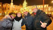 Auguri da piazza Saffi (foto Frasca)