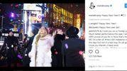 Mariah Carey in pelliccia: il freddo vince sull'esigenza di essere sexy (Instagram)