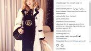 Look castigatissimo stavolta per Chiara Ferragni, ma nei commenti al post spopola Gino (Instagram)