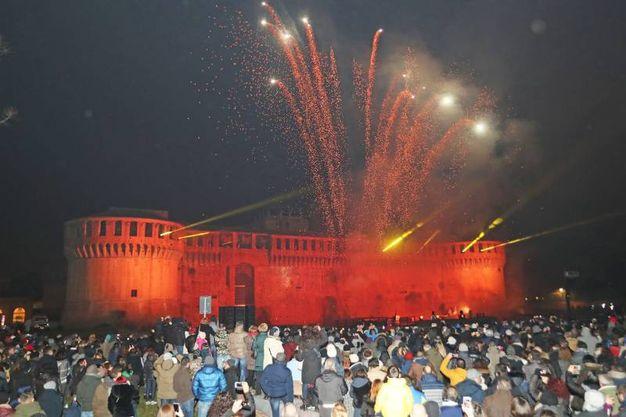 Imola, il Capodanno alla Rocca Sforzesca (foto Isolapress)