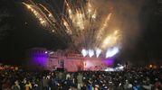 La magnifica festa di Capodanno alla Rocca di Imola (foto Isolapress)