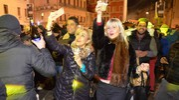 Auguri in piazza (foto Donzelli)