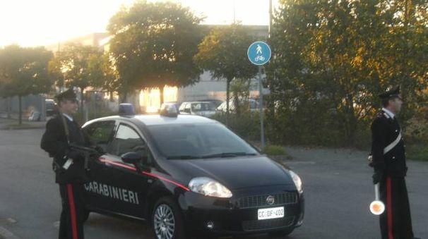I carabinieri stanno svolgendo indagini