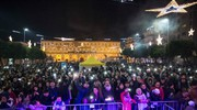 Capodanno in Piazza XX Settembre a Civitanova Marche (Foto De Marco)
