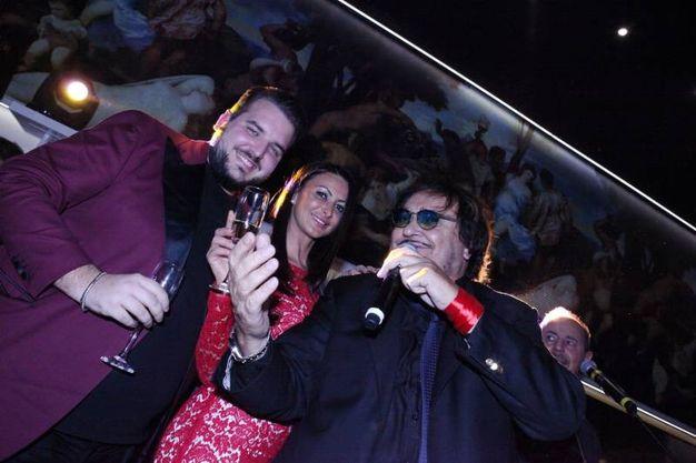 Capodanno al Donoma con Umberto Smaila(foto De Marco)