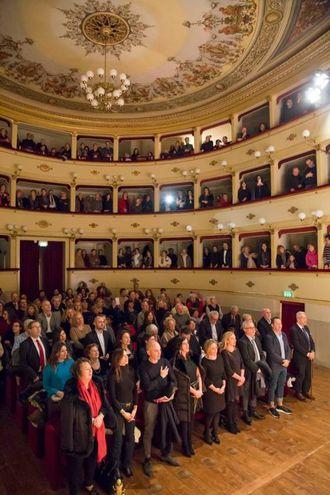 Concerto di Capodanno al Teatro Annibal Caro (foto De Marco)