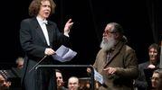 Concerto di Capodanno,  dirige il maestro Alfredo Sorichetti (foto De Marco)