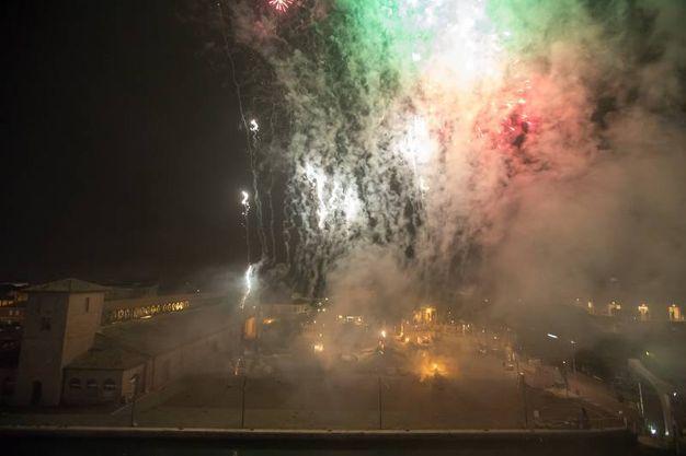 I festeggiamenti  (foto Zani)