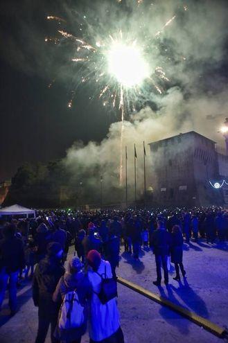 Capodanno a Lugo (foto Zani)