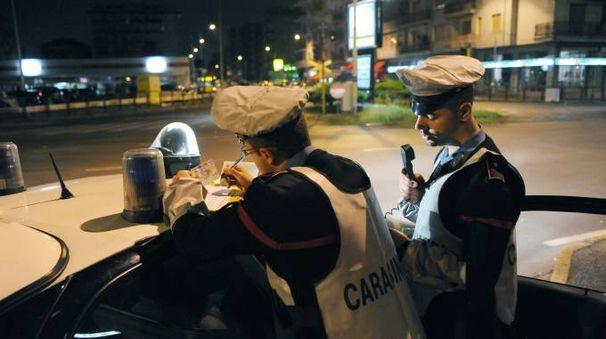 I controlli dei carabinieri di Novate