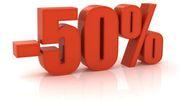 5 - Diffidare degli sconti superiori al 50%