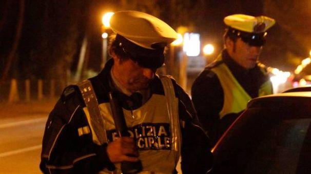 Controlli della polizia municipale di Ravenna