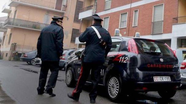 I carabinieri intervenuti sul luogo della disgrazia