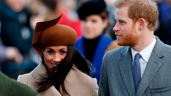 Harry e Meghan (AFP)