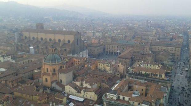 Bologna vista dalla Torre degli Asinelli