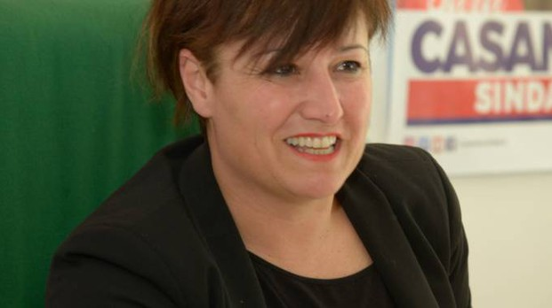 Il sindaco di Lodi Sara Casanova