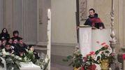La chiesa gremita (foto Lecci)