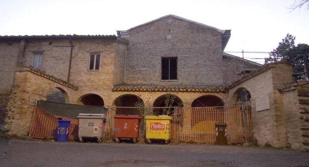 Così appare al visitatore il convento dei Cappuccini di Urbino