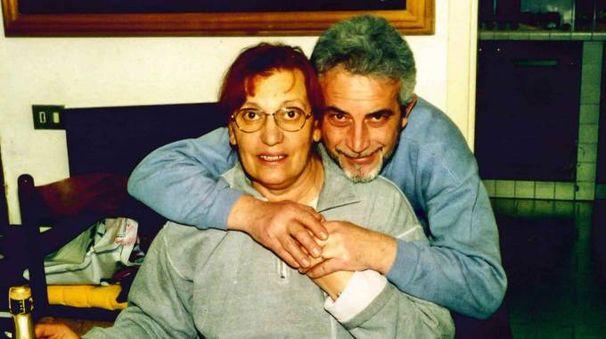 Maria Pia Becchetti  con il marito Pierluigi Bazzurri