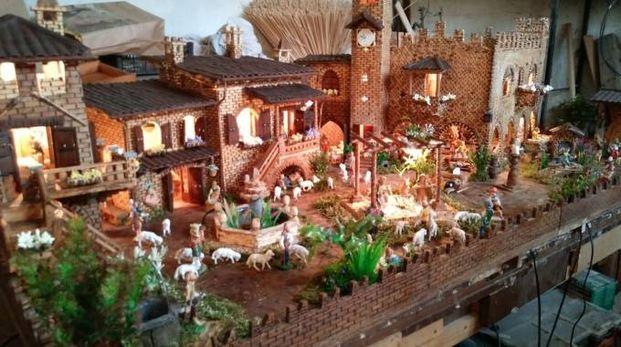 La miniatura del Borgo di Grazzano Visconti