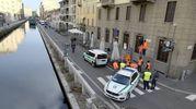 Milano,  rimozione dei barconi-ristorante sui Navigli