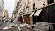 Impalcatura caduta a Parigi (LaPresse)