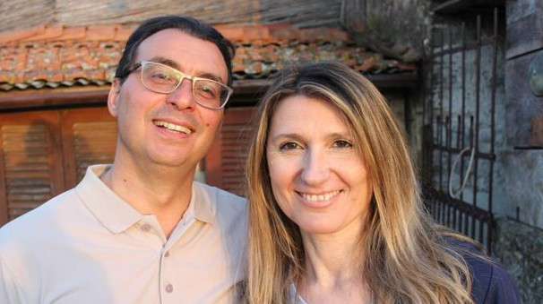 Riccardo Casamonti e Maria Luisa Beilowa