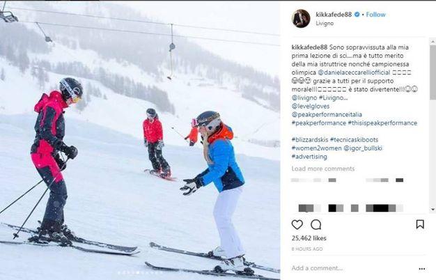 Le foto postate da Federica Pellegrini su Instagram