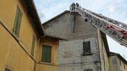 L'intervento dei vigili del fuoco a Porretta