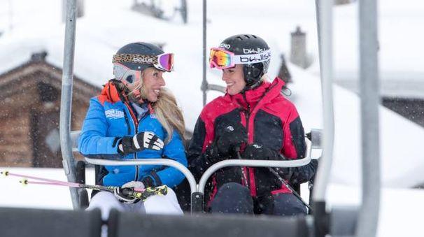 Federica sugli sci