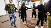 Prove per il ballo delle debuttanti organizzato da Ant (Foto Giuseppe Cabras/NewPressphoto)