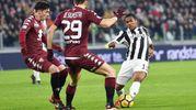 Juventus Torino 1-0, Douglas Costa (Ansa)