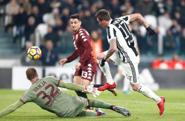 Ancora il gol di Mandzukic (Lapresse)