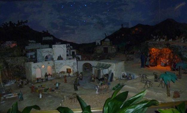 Il presepe della parrocchia di S. Angelo a Legnaia a Firenze