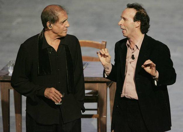 Adriano Celentano e Roberto Benigni (Ansa)