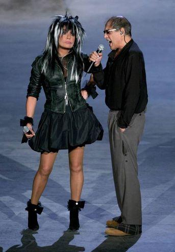 Adriano Celentano e Loredana Bertè (Newpress)