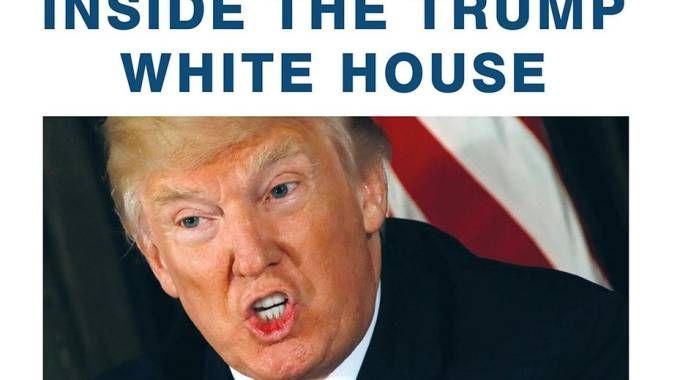 'Fire and Fury', il libro choc su Trump (Ansa)