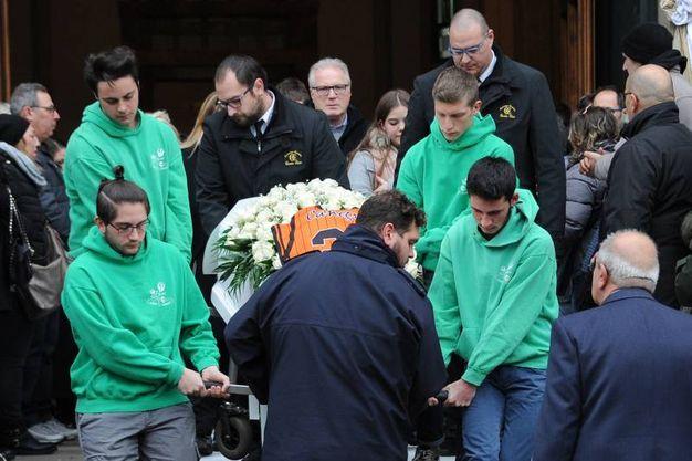 Canegrate, i funerali di Federica Banfi