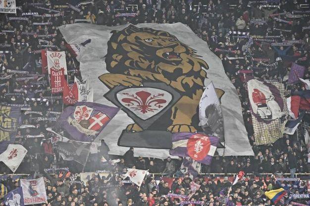 I tifosi della Fiorentina (Ansa)