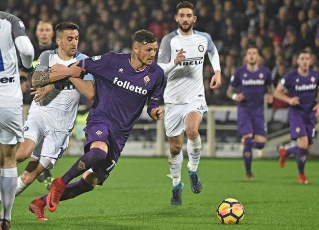 Fiorentina-Inter (Ansa)