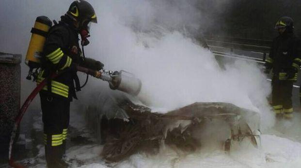 I vigili del fuoco (foto repertorio)