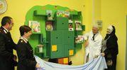 La befana nel reparto biodiversità alla clinica pediatrica del Santa Chiara (foto Valtriani)