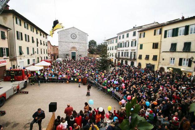 La befana in San Francesco (foto Alcide)
