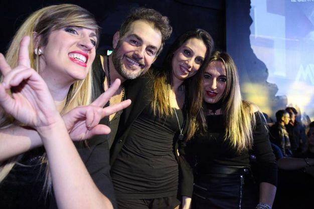 Il saluto di Daniele Bossari (foto De Marco)