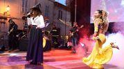 Canti e balli per la festa dell'Epifania (foto De Marco)