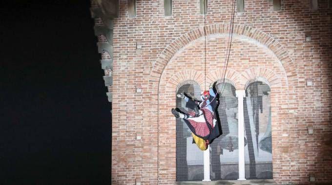 La befana dei vigili del fuoco (foto Tommaso Gasperini/Germogli)