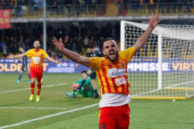 Benevento-Sampdoria 3-1, Brignola (Ansa)