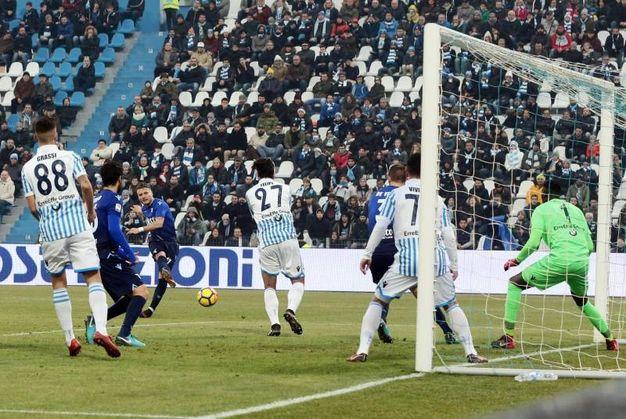 Spal-Lazio 2-5, Immobile (Ansa)
